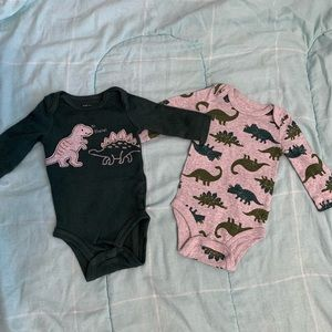 Just One You Dinosaur Bodysuit Set 3 M